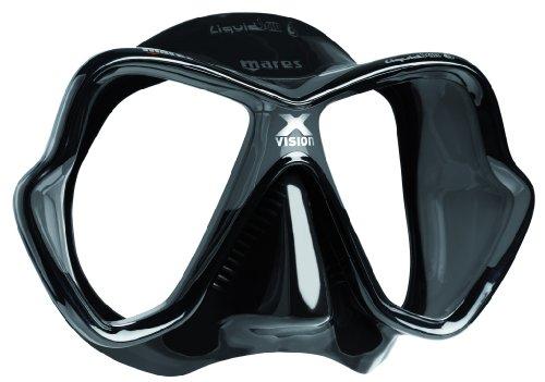 Mares X-Vision LiquidSkin - Máscara de buceo, schwarz/grau/schwarz