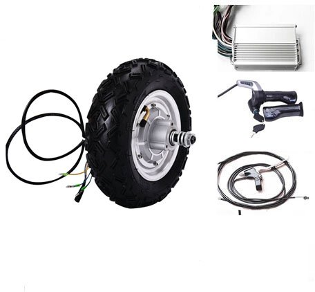 GZFTM 10 Pouces 500 W 24 V électrique brushless Non-engrenage moyeu Moteur électrique Scooter Moteur, électrique Roue-Moteur