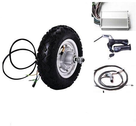GZFTM 10 Pulgadas 350 W 24 V Kit de Motor eléctrico de la Vespa Kit de conversión eléctrica del monopatín Kit de Motor de Silla de Ruedas eléctrica