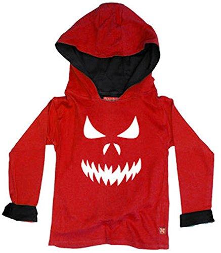 Stardust - Sweat-shirt à capuche - Garçon - Rouge - Rouge - 2 ans