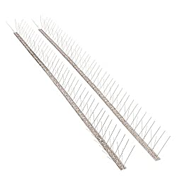 The Bird Blinder Stainless Steel Bird Spikes