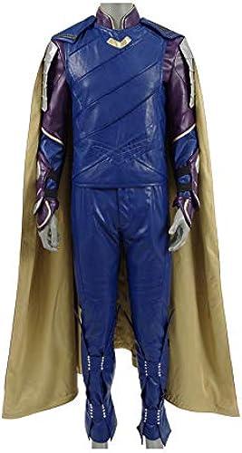 Zhangjianwangluokeji Loki Kostüm Cosplay Halloween Größer Komplett Jumpsuit