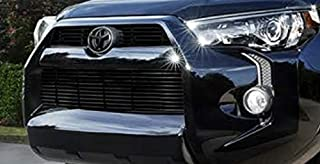 2015 & UP TOYOTA 4RUNNER BLACK OVERLAY FRONT GRILLE EMBLEM COVER 00016-89016-02