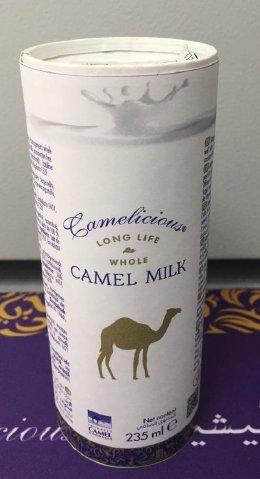 NO LOCKDOWN 1 Tray (2,82 Liter ) Original Kamelmilch von Camelicious aus Dubai (12 Dosen a 235ml) – BESTPREISGARANTIE