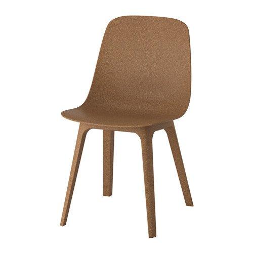 IKEA ODGER Stuhl in braun