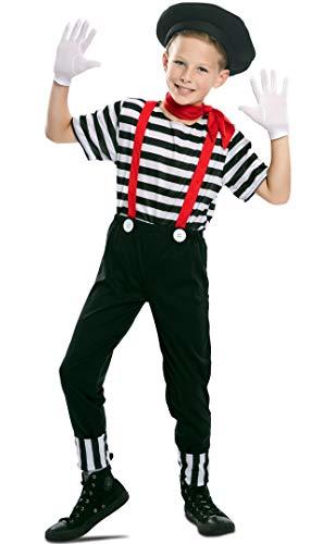 Generique - Disfraz mimo niño - 7 à 9 ANS (122-138 cm)