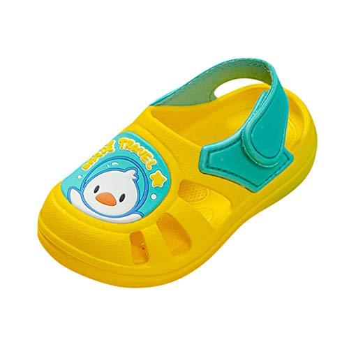 Badeschuhe Kinder Schuhe Jungen Mädchen Closed Toe Summer Beach Sandalen Schuhe Turnschuhe Hausschuhe Unisex Badeschuhe Kleinkind-Pwtchenty
