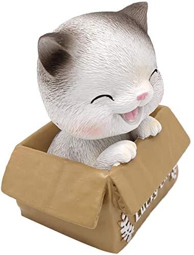 hsj LF- Spielzeug Kopf schütteln Puppe Nicken glückliche Figur Spielzeug Armaturenbrett Ornament Lernen