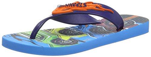 Ipanema Hot Wheels Tyres - Flip-flop Hombre, Azul - azul (Blue), 42 EU