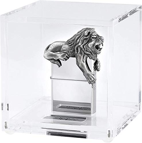 Zippo 18684 Löwe 3D high Polished-2.006.581-Limited Edition 2020-2500 pcs. Worldwide, Chrome