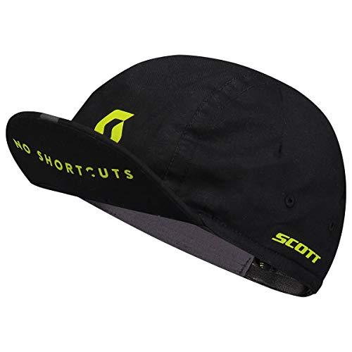 Scott No Shortcuts Fahrrad Unterhelmmütze schwarz/gelb