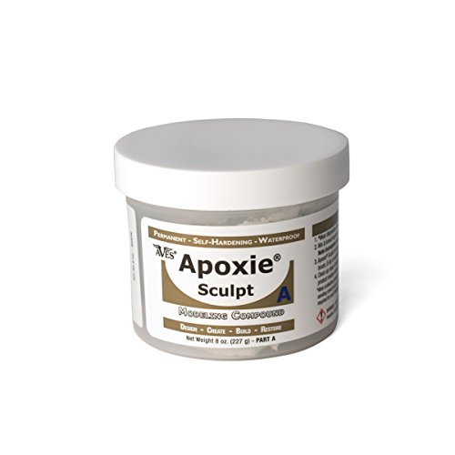 Apoxie Sculpt - 2 Part Modeling Compound (A & B) - 1 Pound, White