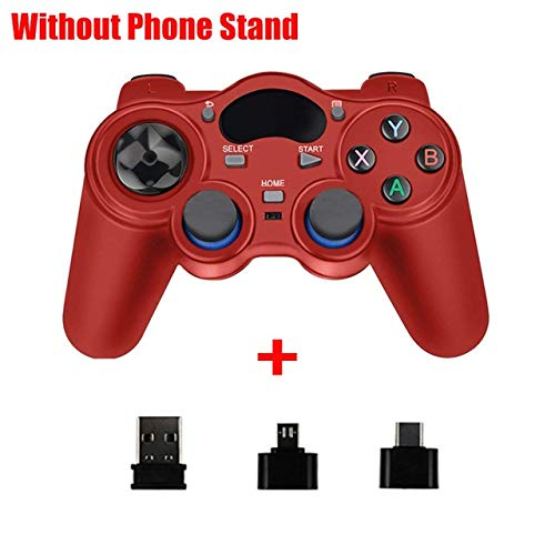 RTTRY 2.4 G Gamepad inalámbrico Android Joystick Joypad con OTG convertidor for PS3 / Smart Phone for Tablet PC Smart TV Box (Color : 8)