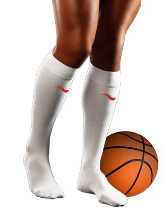 Medi-Last - Calcetín recu Basket Unisex, tamaño XXL, Color Blanco