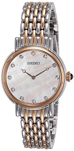 Seiko Analog Mother of Pearl Dial Women's Watch - SFQ806P1