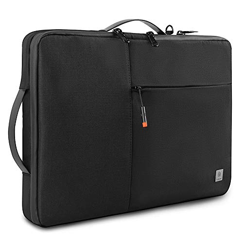 WIWU Laptop Carrying Case for 13-inch New MacBook Air Retina A2179 A1932, MacBook Pro A2159, A1989 A1706 A1708, Waterproof Notebook Sleeve Bag for 12.9 iPad Pro 3/4 Gen, 12.3 Inch Surface Pro.(Black)
