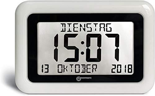 Geemarc Telecom S.A Uhr, Weiß,