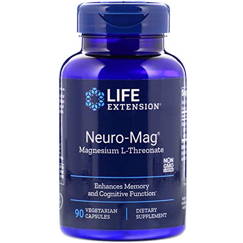 Life Extension, Neuro-Mag, 90 Cápsulas vegetarianas