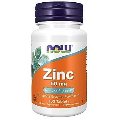 NOW Foods - Zinc 50 mg.