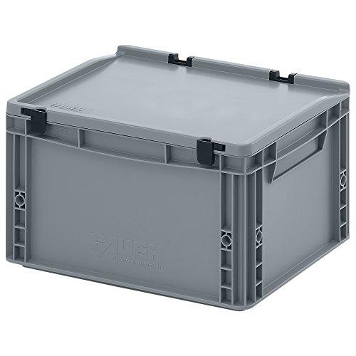 Eurobehälter-Eurobox 40 x 30 x 23,5 cm mit Scharnierdeckel