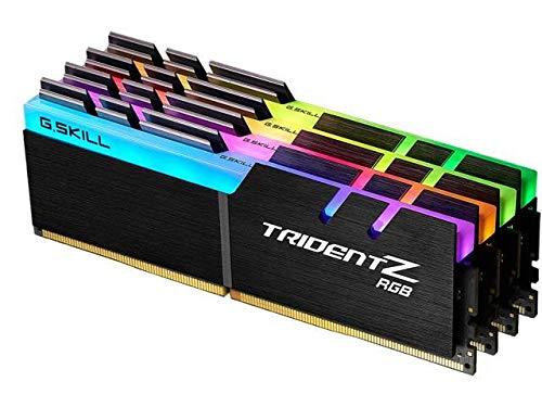 G.Skill Trident Z RGB F4 3200C16Q 64GTZR Module de mémoire 64 Go 4 x 16 Go DDR4 3200 MHz