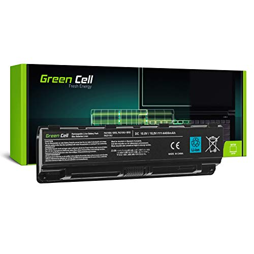 Green Cell® PA5109U-1BRS Laptop Akku für Toshiba Satellite C50 C50D C50t C55 C55D C55t C70 C70D C75 C75D L70 P75 C50-A C50D-A C55D-A C55-A C55D-A