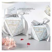 SHUHAO 10個入りダイヤモンドのキャンディボックスの結婚式&婚約同様ギフトボックス結婚式の誕生日パーティーの装飾は、ボックス用品 (Color : Love)