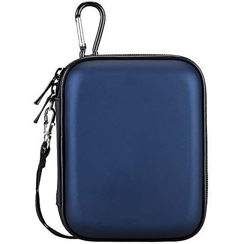 Lacdo Externe Festplattentasche Hard Drive Case für Seagate Portable Drive/Seagate Expansion/Seagate Backup Plus Slim/Seagate Game Drive Xbox 2.5 Zoll 1TB 2TB 3TB 4TB 5TB HDD Schutzhülle, Blau