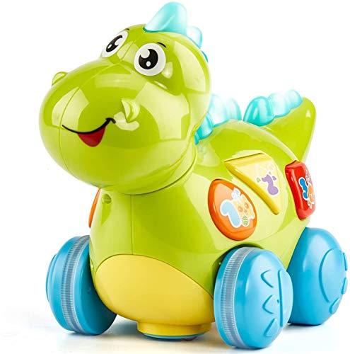 Elèctric Dinosaurio Bebé Inteligente Bebé Interactivo Música Cantar Caminar Dinosaurio Tõyy, Bebé 6 Meses A 12 Meses Música Dinosaurio Aprendizaje Bebé 12 Meses A 18 Meses Luz de la Música, Suita