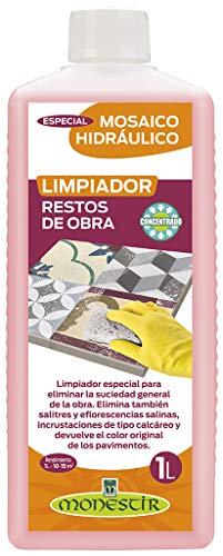 Limpiador Restos Obra, Especial Mosaico Hidráulico 1L MONESTIR