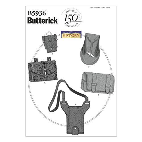 Butterick Patterns B5936 Patron de corset pour femme Blanc Taille D5 40 à 48