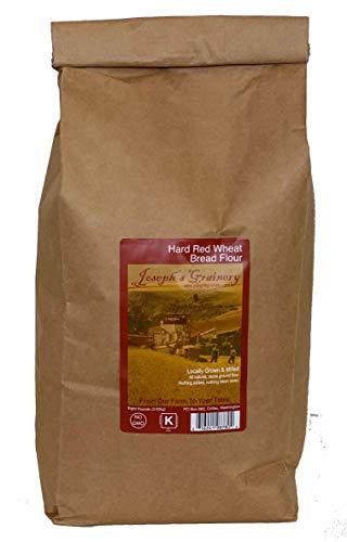 Hard Red Whole Wheat Flour,8 lbs, Joseph's Grainery Freshly Ground Flour, Non-GMO, Kosher Certified