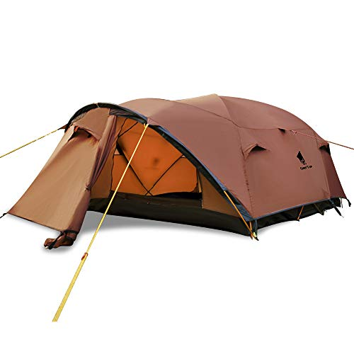 GEERTOP Camping Tent for 4 Person Lightweight Family Tent Waterproof 4 Season - Easy to Set Up Large LandLope 3 Tent for Outdoor Travel Hiking