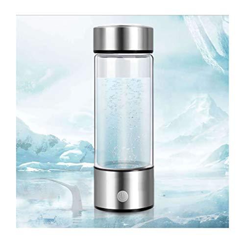 FZ FUTURE Wasserstoff Wasser Ionisator Wasserstoffreiche Alkalischer basischen Wasser Flasche Wasserstoffgenerator,Tragbar Wasserstoffreiche Trinkflasche Anti Aging Antioxidans