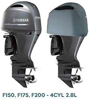 Oceansouth Custom Fit Vented Cover for Yamaha in-LINE 4 Cylinder 2.8L Outboards F175,F200