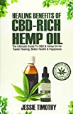 Healing Benefits of CBD-Rich Hemp Oil - The Ultimate Guide To CBD
