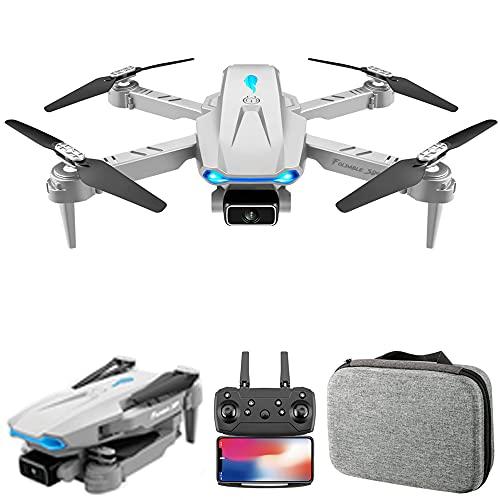 Voupuoda S89 RC Drone con Fotocamera 4K WiFi FPV Drone Mini Quadricottero Pieghevole Giocattolo per Bambini con Controllo del sensore di gravità modalità Senza Testa Gesto Foto Funzione Video