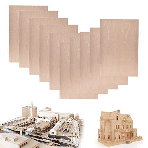 10 Pack Basswood Sheet