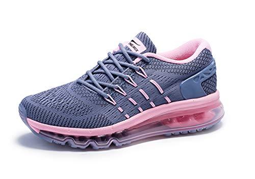Dilize-OneMix ,  Unisex Erwachsene Laufschuhe, Grau - grau/pink - Größe: 38