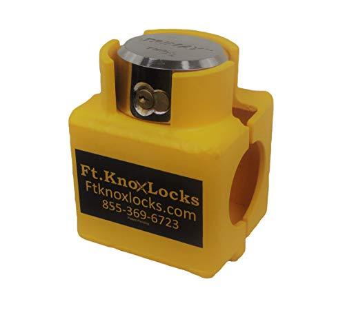 Bulldog Sliding Collar Coupler Lock Includes Trimax puck lock
