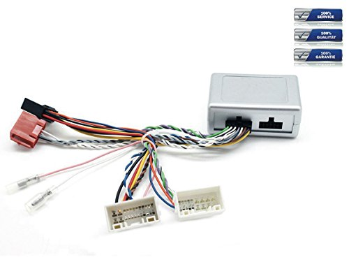 NIQ Lenkradfernbedienungsadapter geeignet für PIONEER Autoradios, kompatibel mit Hy&ai IX-35 / I40 / Sonata / Tucson