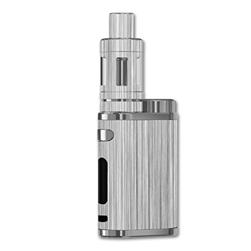 MightySkins Skin Compatible with eleaf iStick Pico 75W TC – Steel | Protective, Durable, and Unique Vinyl Decal wrap Cover | Easy to Apply, Remove, and Change Styles | Made in The USA