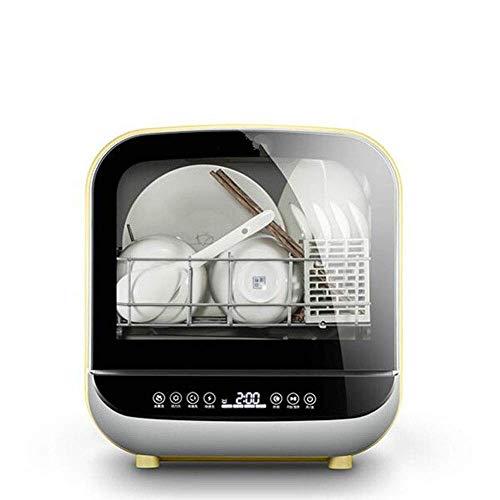 Barir Compacta Encimera Lavavajillas - Mini portátil Lavavajillas de Acero Inoxidable Interior de la Pequeña Apartamento Oficina y Hogar Cocina con la Cesta Desmontable Plegable