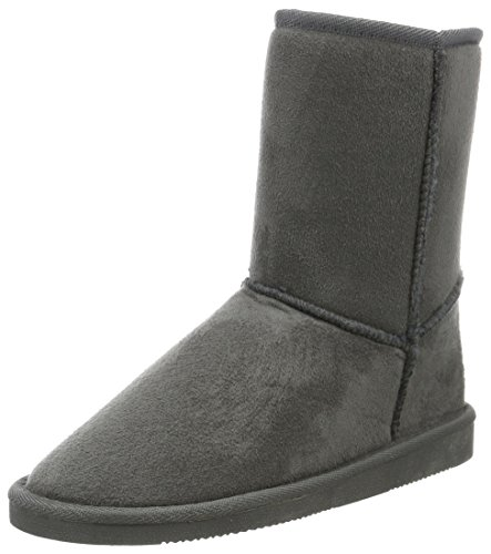 Canadians Damen Boots Schlupfstiefel, Grau (250 DK. GREY), 36 EU