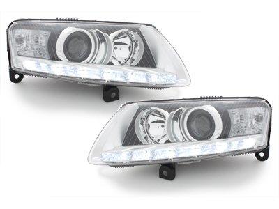 D2S Xenon Scheinwerfer chrom Frontscheinwerfer Facelift-Optik