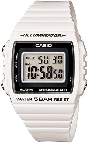 [カシオ] 腕時計 スタンダード W-215H-7AJF ホワイト