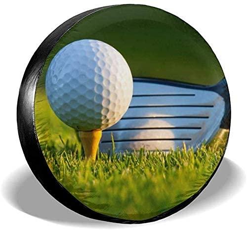 Pelota de Golf Deportiva, Cubierta Universal Impermeable para neumáticos de Repuesto, se Adapta a remolques, vehículos recreativos, camionetas, camionetas, Accesorios para remolques de Viaje