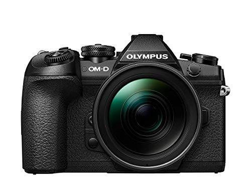 Olympus OM-D E-M1 Mark II Kit, Micro Four Thirds Systemkamera (20.4 Megapixel, 5-Achsen Bildstabilisator, elektronischer Sucher) + M.Zuiko 12-40mm PRO Universalzoom, schwarz