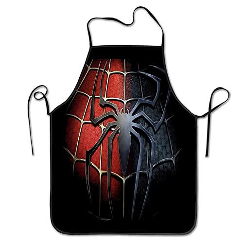 Tablier personnalisé Spiderman Cadeau amusant pour papa amateur de film Noël