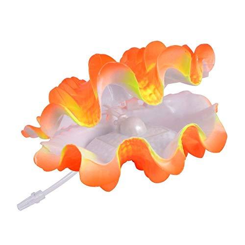 Uotyle Tropische Muschel Live-Action Belüftung Aquarium Ornament